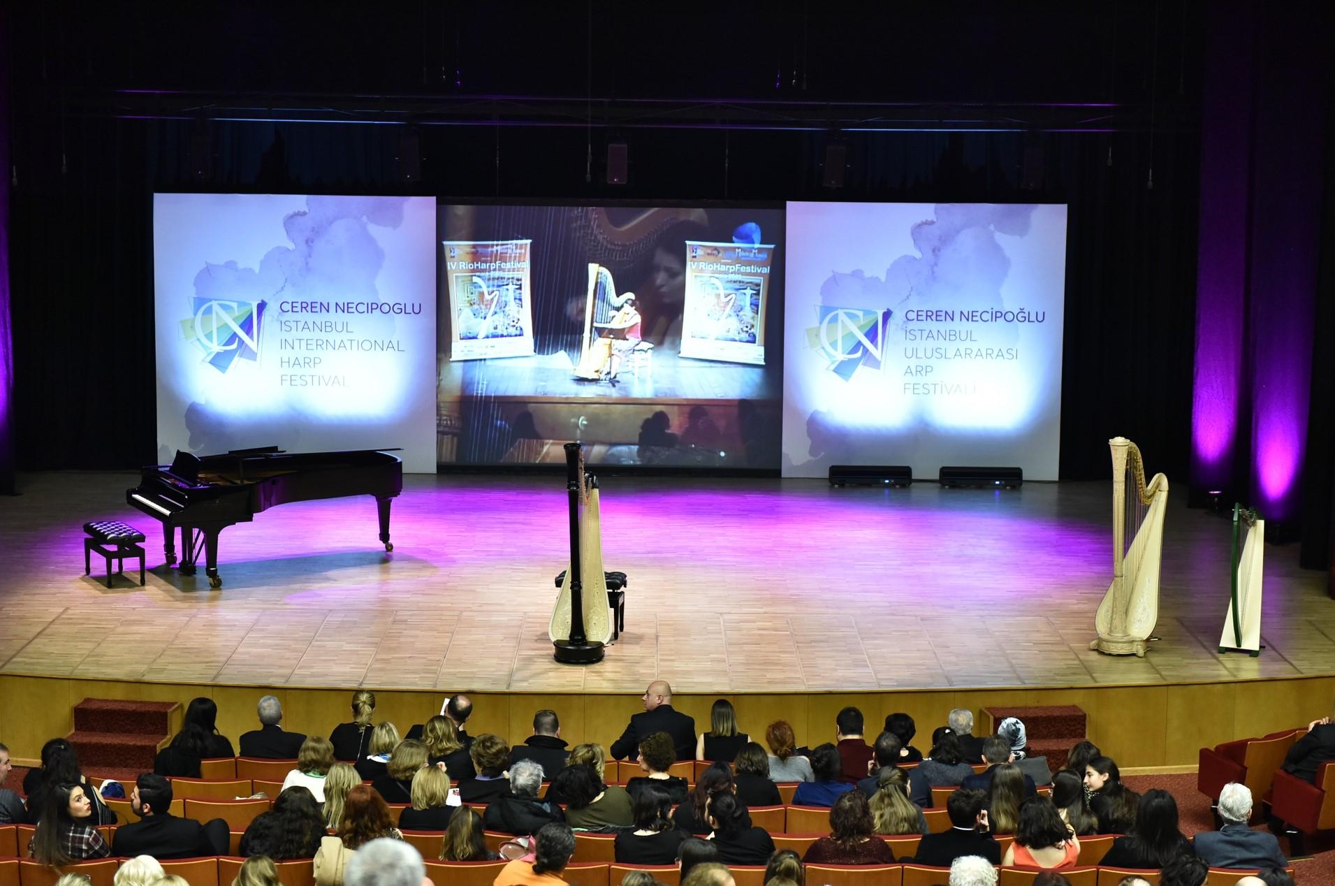 CN İstanbul Uluslararası Arp Festivali