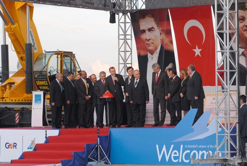 Sabiha Gökçen Havalimanı Temel Atma Töreni