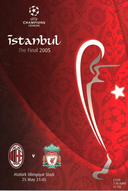 Champions League Final İstanbul 2005